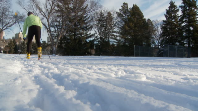 Cross country skiing 5 video