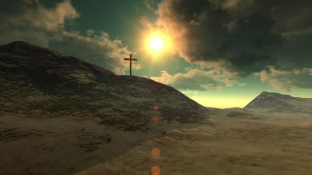 Cross on Calvary (Crucifixion) video