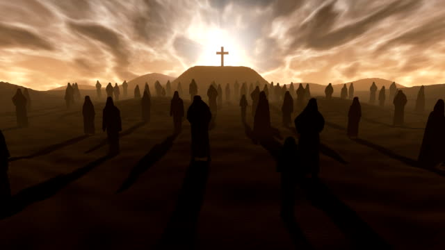 vídeos de stock e filmes b-roll de cross on the hill - cristo redentor