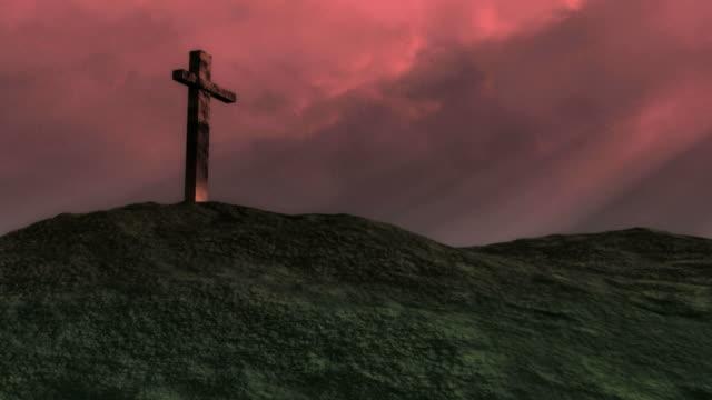 Cross. Red Sky video