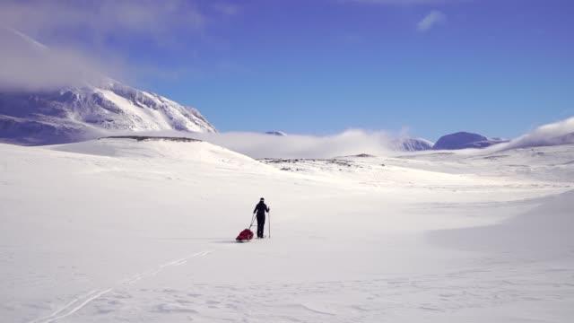 längdskidåkning - norrbotten bildbanksvideor och videomaterial från bakom kulisserna