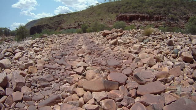 HD: Crossing Rough Rocky Road video