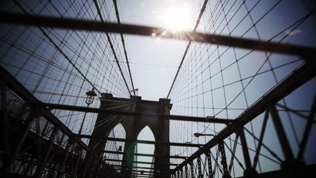 Crossing the Brooklyn Bridge POV #2 video