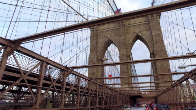 Crossing the Brooklyn Bridge video