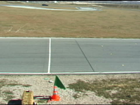 Crossing the Finish Line at Race Track video
