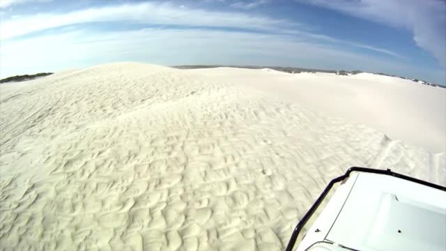 HD: Crossing The Lancelin Sand Dunes video