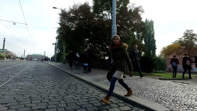 Cruzando la calle - vídeo