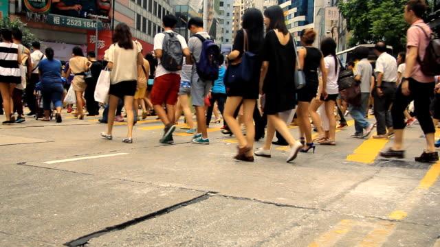 Crowd Crosswalk video
