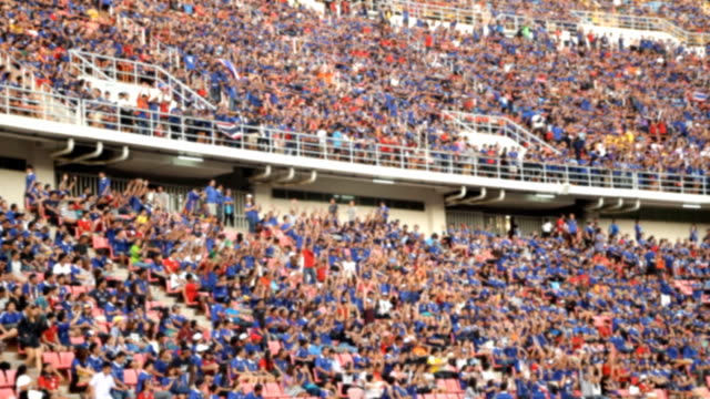 Crowd in stadium video
