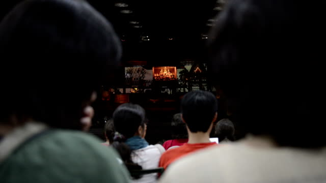 Crowd of people waiting for performance show Crowd of people waiting for performance show classical concert stock videos & royalty-free footage