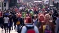istock Crowded street temperature 1223606847