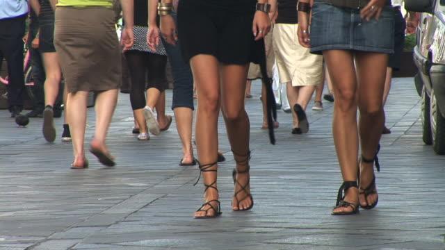 HD: Crowded Street video