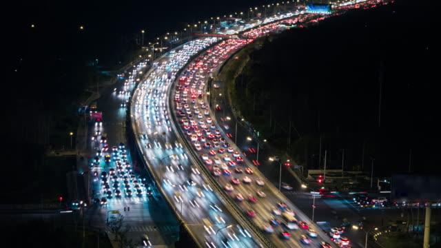 T/L HA ZO Crowded Traffic / Beijing, China video