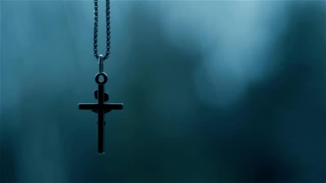 Crucifix During