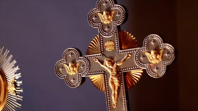 krucifix - krucifix bildbanksvideor och videomaterial från bakom kulisserna
