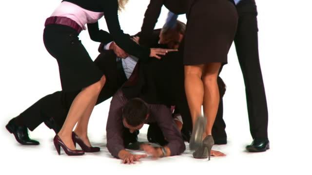 HD TIME-LAPSE: Cruel Business World video