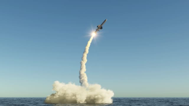Cruise missile flies up cruise missile flies up from the water shield stock videos & royalty-free footage