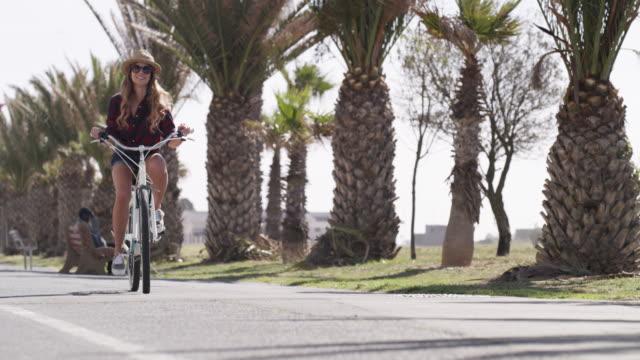 Cruising around the promenade