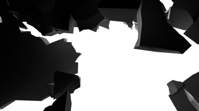 crumbling wall video