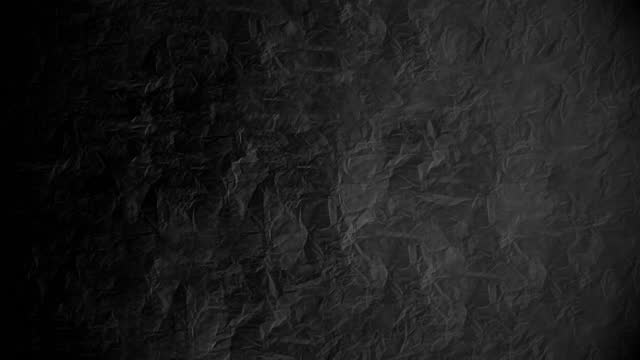 Crumpled paper stop motion animation, Textured paper background. The concept of sketch pad, design, retro style, wrinkle, frayed, blank