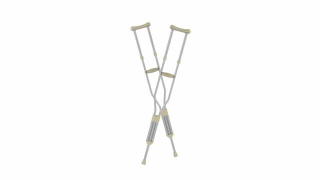Crutches video