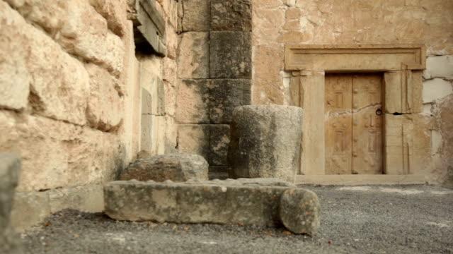 Crypt entrance video
