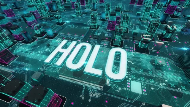 Cryptocurrency with Holo