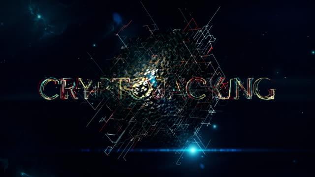 cryptojacking matrix cube - spyware filmów i materiałów b-roll