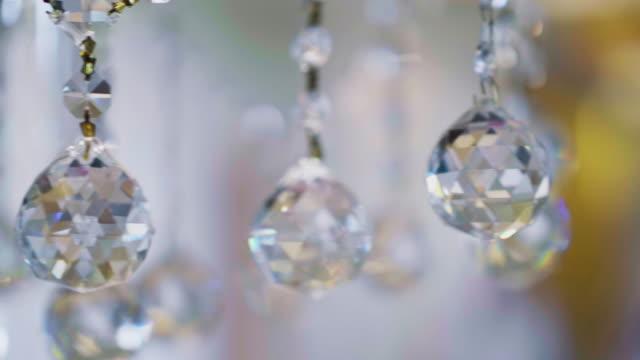 クリスタルシャンデリア - 宝飾品点の映像素材/bロール