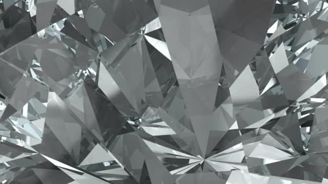 crystal clear christmas background loop - камень стоковые видео и кадры b-roll