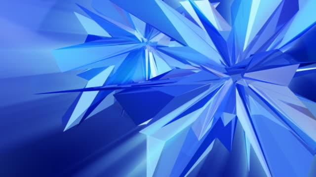 cristallo fantasia - ice on fire video stock e b–roll