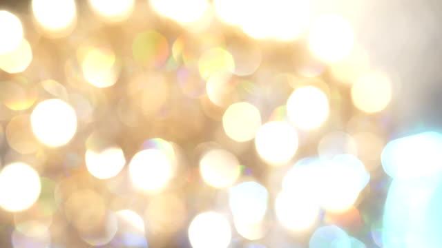 クリスタル ゴールド シャンデリア - 豊富点の映像素材/bロール