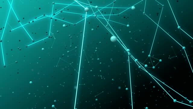 Crystal lattice. video