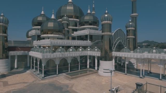 crystal mosque. - ramadan kareem стоковые видео и кадры b-roll