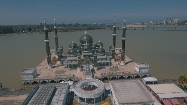 vídeos y material grabado en eventos de stock de mezquita de cristal. - distrito eminonu