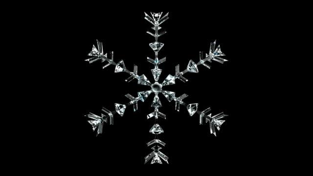 Crystal Snowflake video