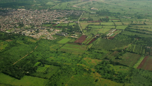 Cuban Landscape Aerial View video
