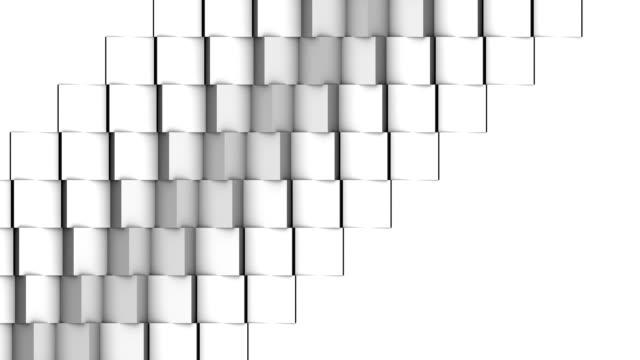 vídeos y material grabado en eventos de stock de cubo valla publicitaria - cube
