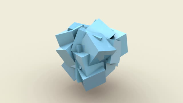 vidéos et rushes de cube - cube