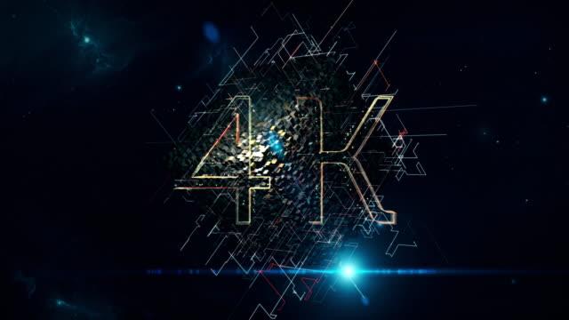 4K Cube video