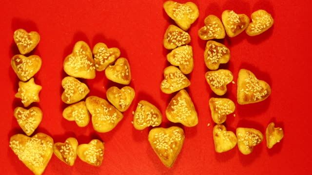 culinary love Stop motion video