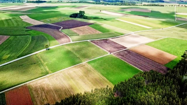 cultivated land in baden wurttemberg cultivated land in baden wurttemberg aerial agriculture stock videos & royalty-free footage