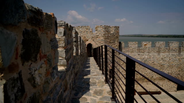 Cultural Heritage, Medieval Ram Fortress, old Ottoman fortress, border fortification situated on the banks of Danube river, eastern Serbia, Europe