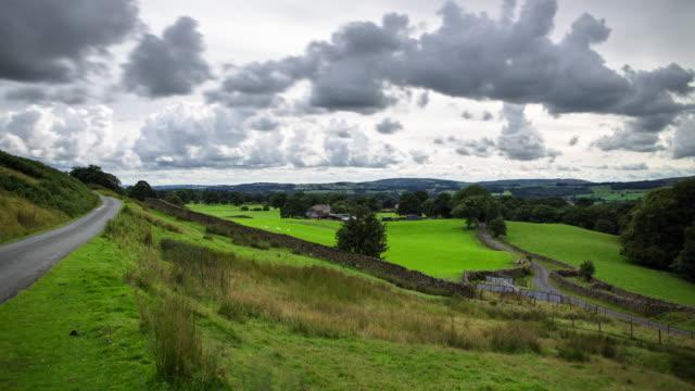 Cumbrian Farmland - Time Lapse video