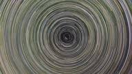 istock Cumulative 8 hour long time-lapse of just star trails around the celestial north pole 1301922398