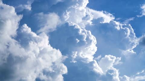 vídeos y material grabado en eventos de stock de timelapse de mover nube cumulonimbus. - nube
