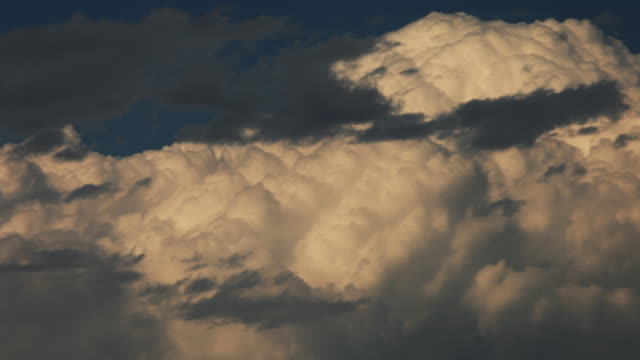 Cumulonimbus cloud. video