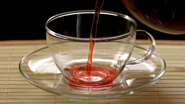 Cup Of Red Tea video