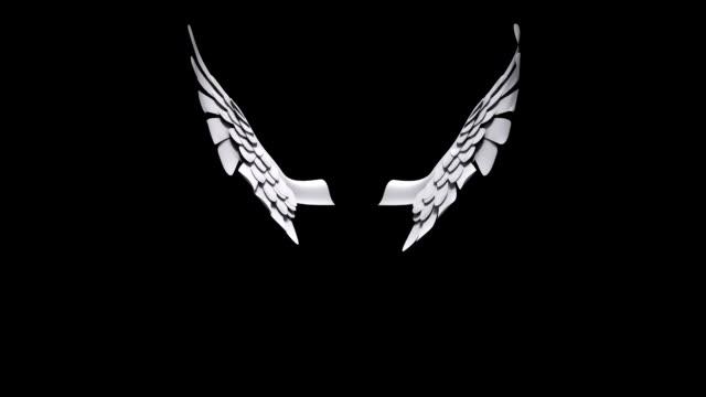 cupido alette - angelo video stock e b–roll