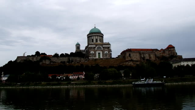 cupola in Esztergom , video